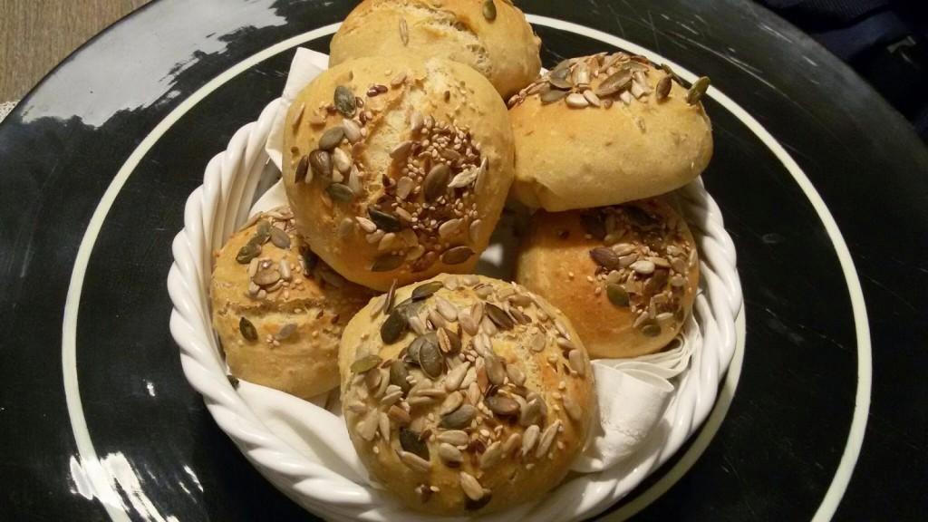 Panini ai 5 cereali e semi misti