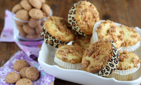 Muffin agli amaretti