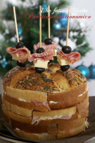 panettone gastronomico o pan canasta