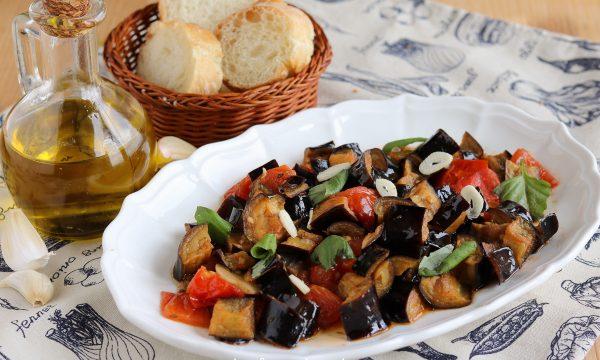 Melanzane al funghetto alla napoletana