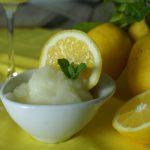 Sorbetto al limone ricetta bimby