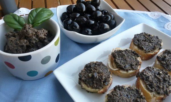 Tapenade di olive nere