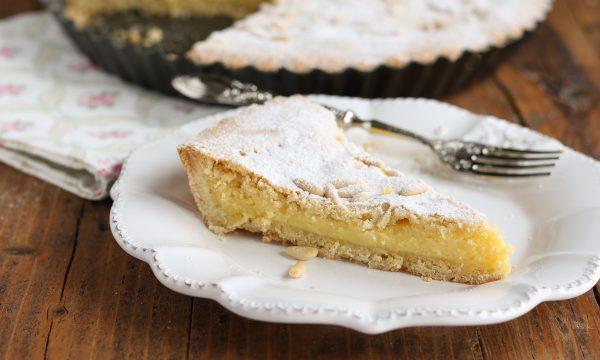 Torta cuor di crema al limone
