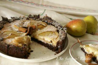 Cheesecake delicata alle pere
