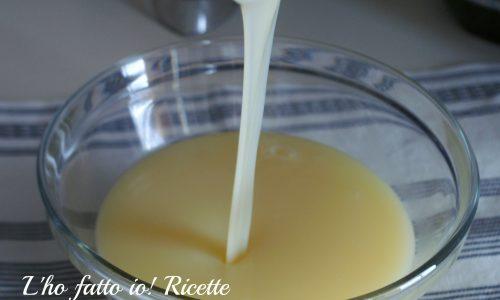 Latte condensato ricetta bimby