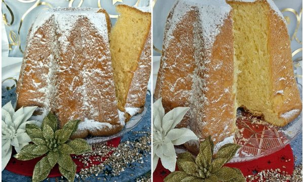 Pandoro Morandin ricetta bimby