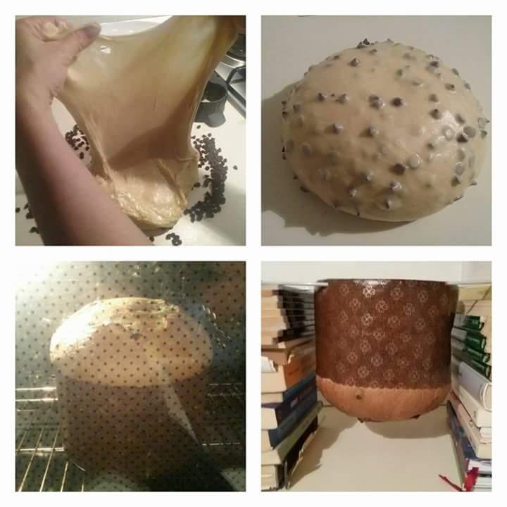 Panettone Favorito ricetta bimby