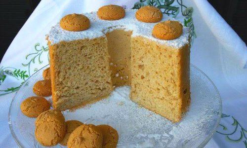 Angel cake agli amaretti