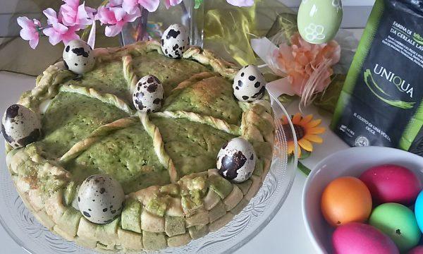 Cestino di torta Pasqualina