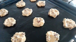 Cookies con gocce di cioccolata
