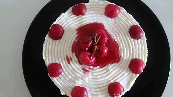 Cheesecake ricetta con ciliegie