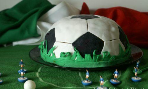 Zuccotto gelato pallone da calcio