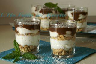 Mono Cheesecake al cocco e cioccolato