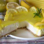 Cheesecake al limone light senza cottura