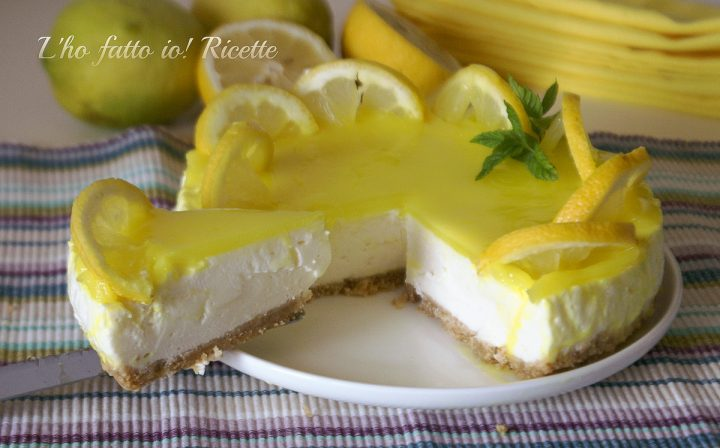 cheesecake al limone light senza cottura