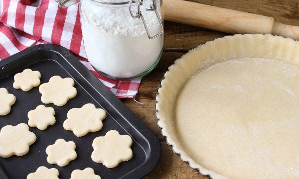 Pasta frolla senza burro e olio