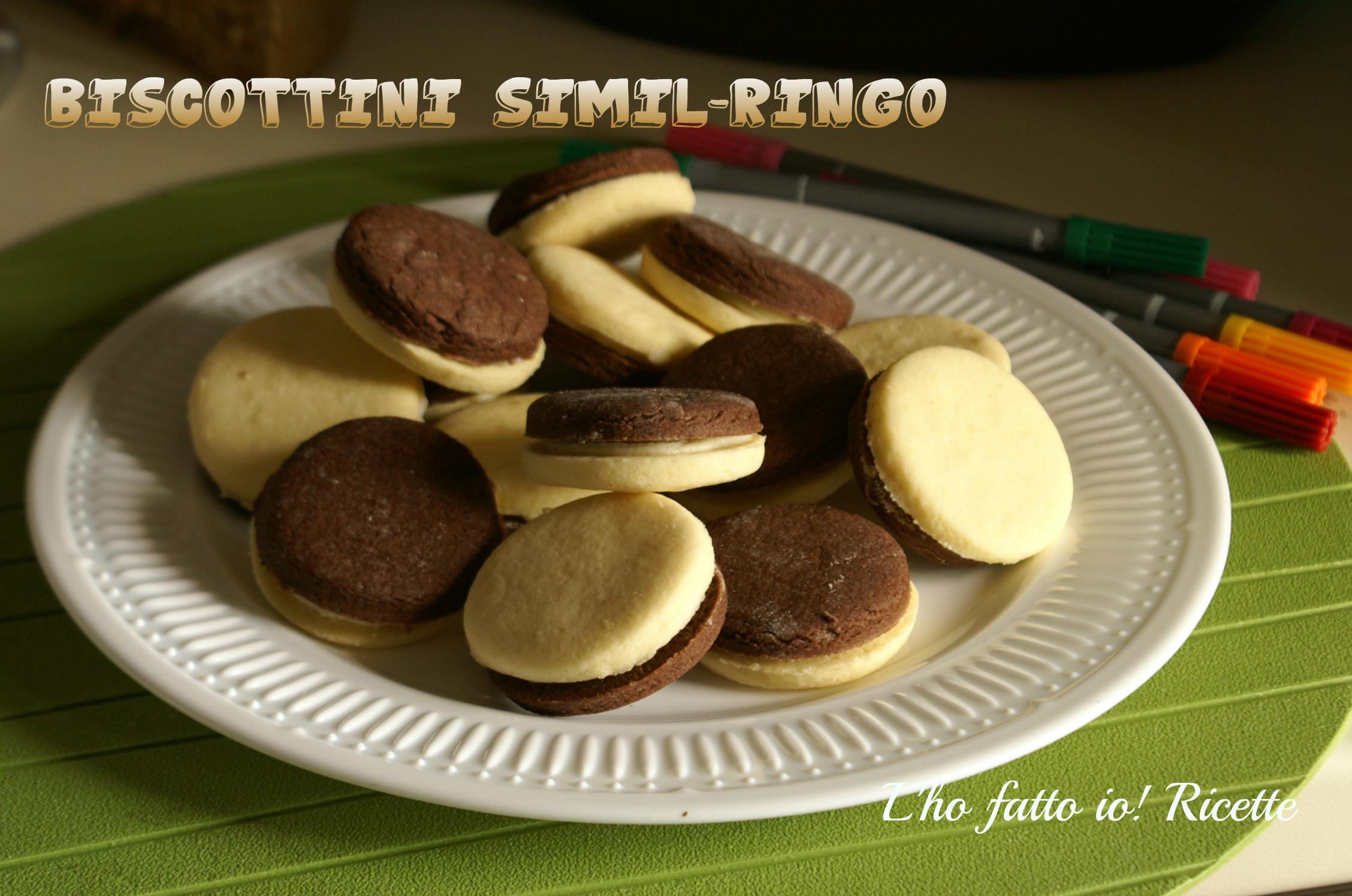 Ricetta dei Biscotti Ringo fatti in casa