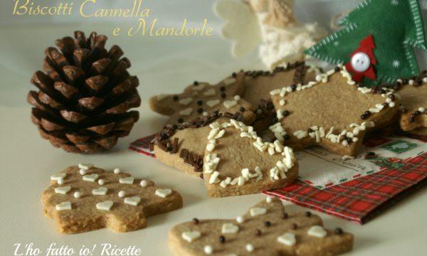 Biscotti profumati di Natale mandorle e cannella