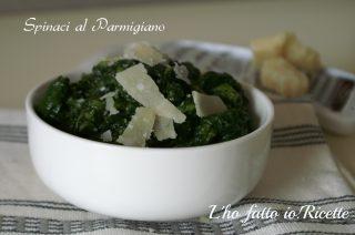 Spinaci al parmigiano
