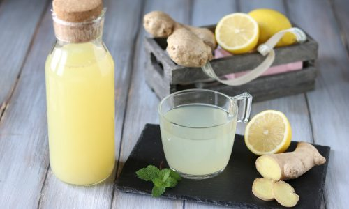 Sciroppo allo zenzero e limone concentrato