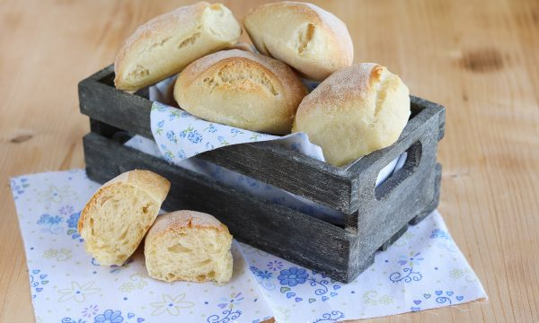 Bocconcini di pane con lievito di birra