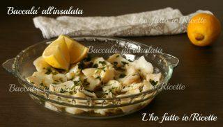 Baccalà all'insalata