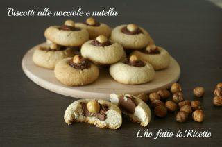 Biscottini alle nocciole e nutella