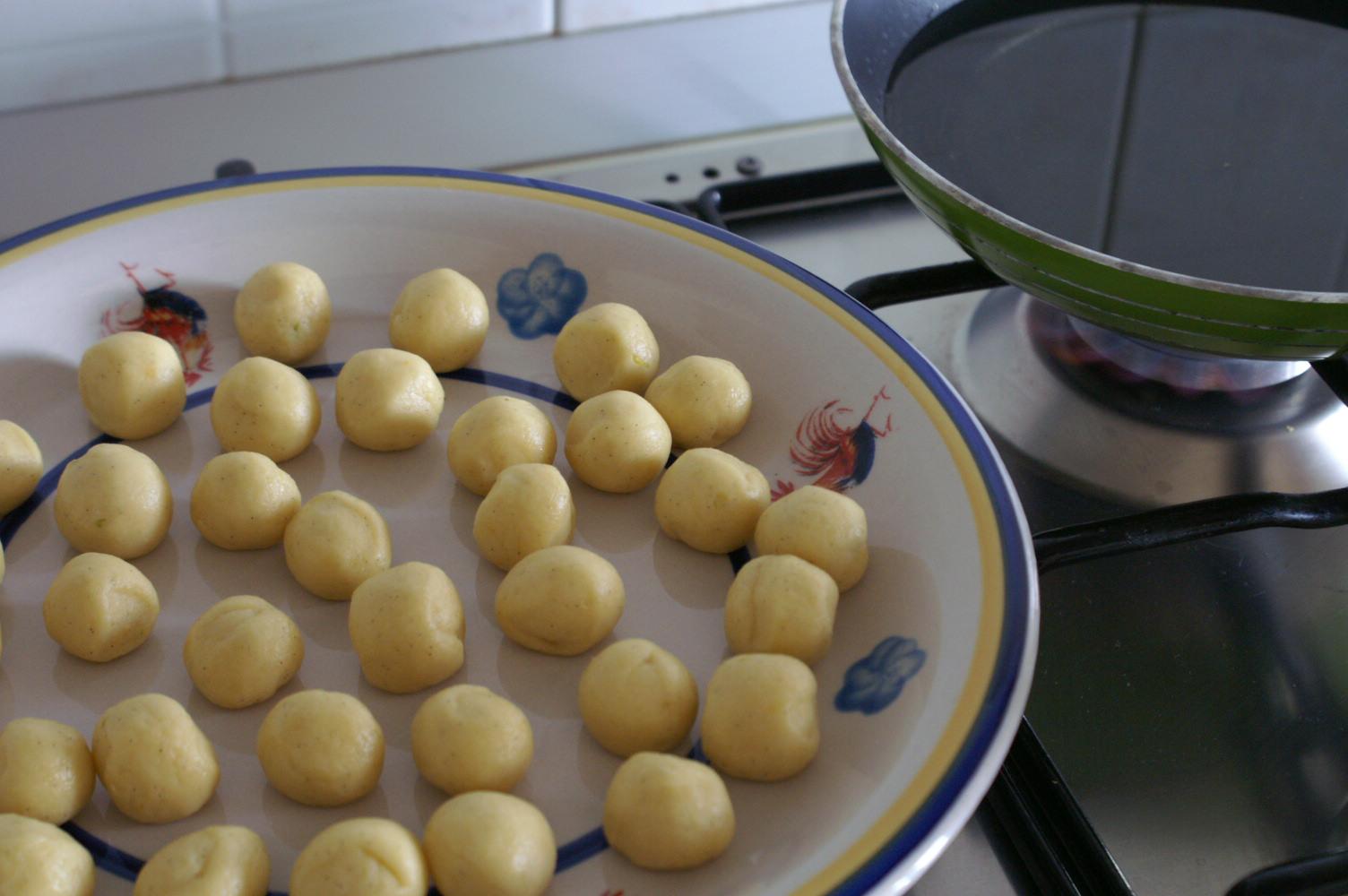 ricetta castagnole carnevale