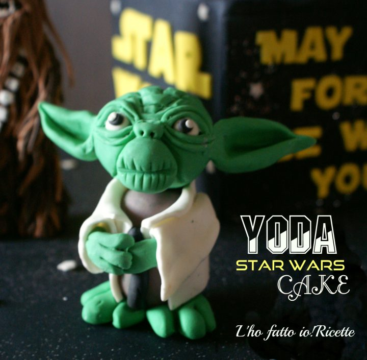 Tutorial Yoda pasta di zucchero