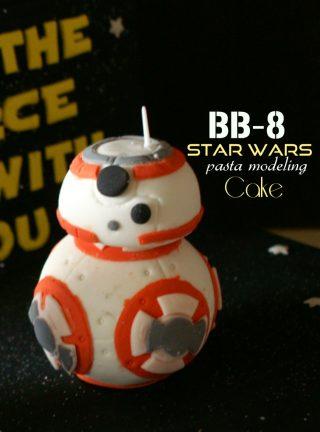 BB-8 in pasta di zucchero