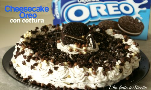 Oreo Cheesecake con cottura