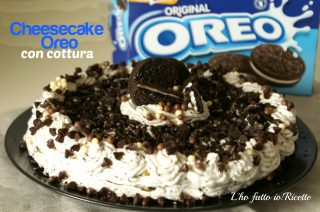 Oreo Cheesecake con cottura