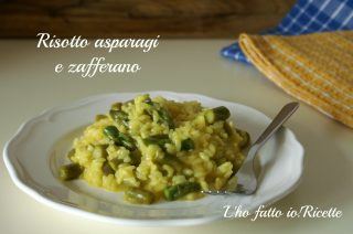 Risotto asparagi e zafferano