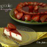 Cheesecake con le fragole con cottura