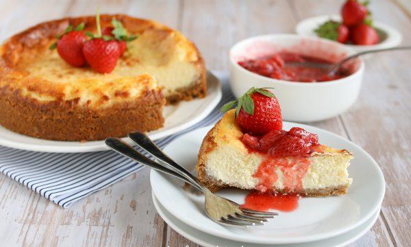 New York Cheesecake con fragole