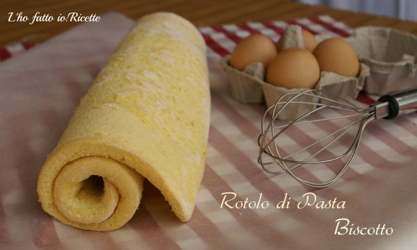 Rotolo di pasta biscotto