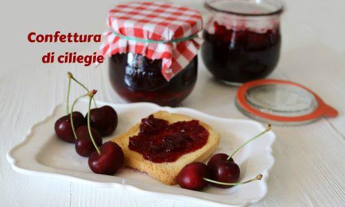 Confettura di ciliegie con o senza bimby