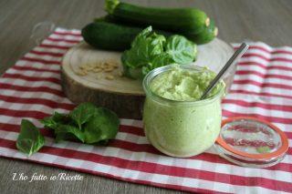 Pesto di zucchine ricetta bimby