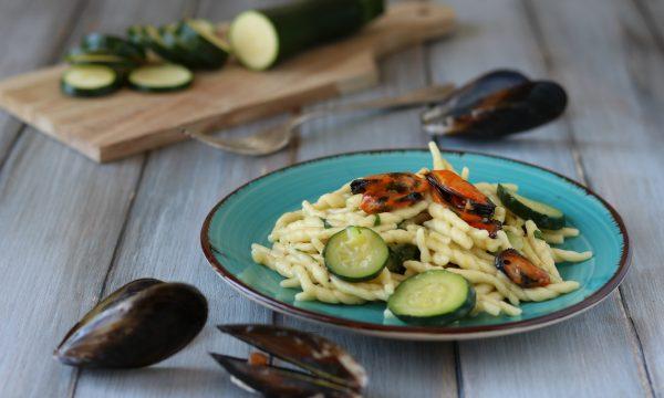 Trofie con zucchine e cozze