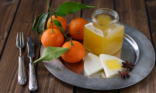 Gelatina di clementine speziata