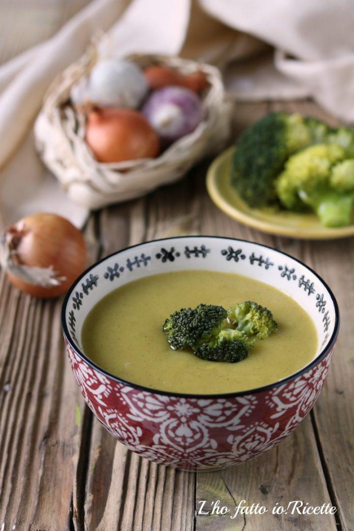 vellutata broccoli patate