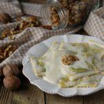 Ravioli ricotta e noci con salsa al gorgonzola