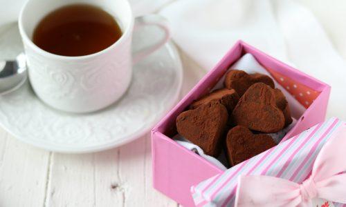 Tartufini al cioccolato per San Valentino