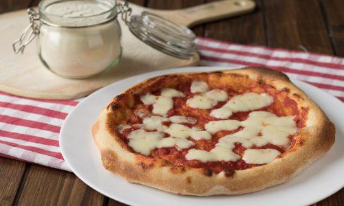 Pizza al piatto a lenta lievitazione