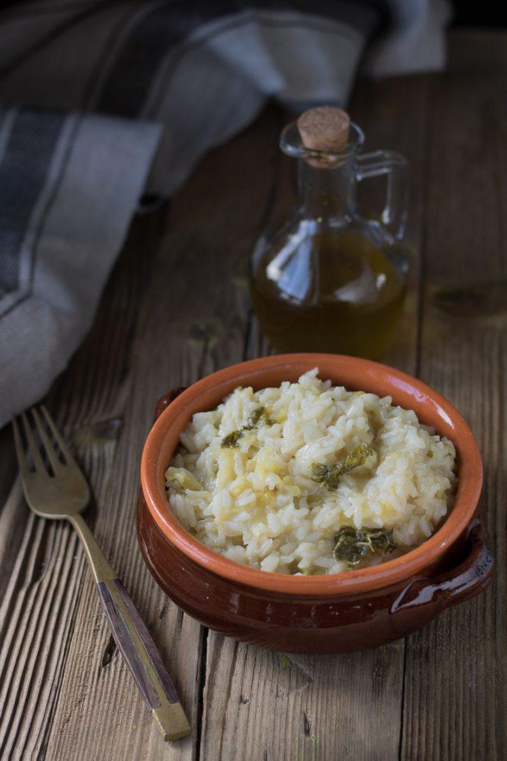 Ricetta riso e verza