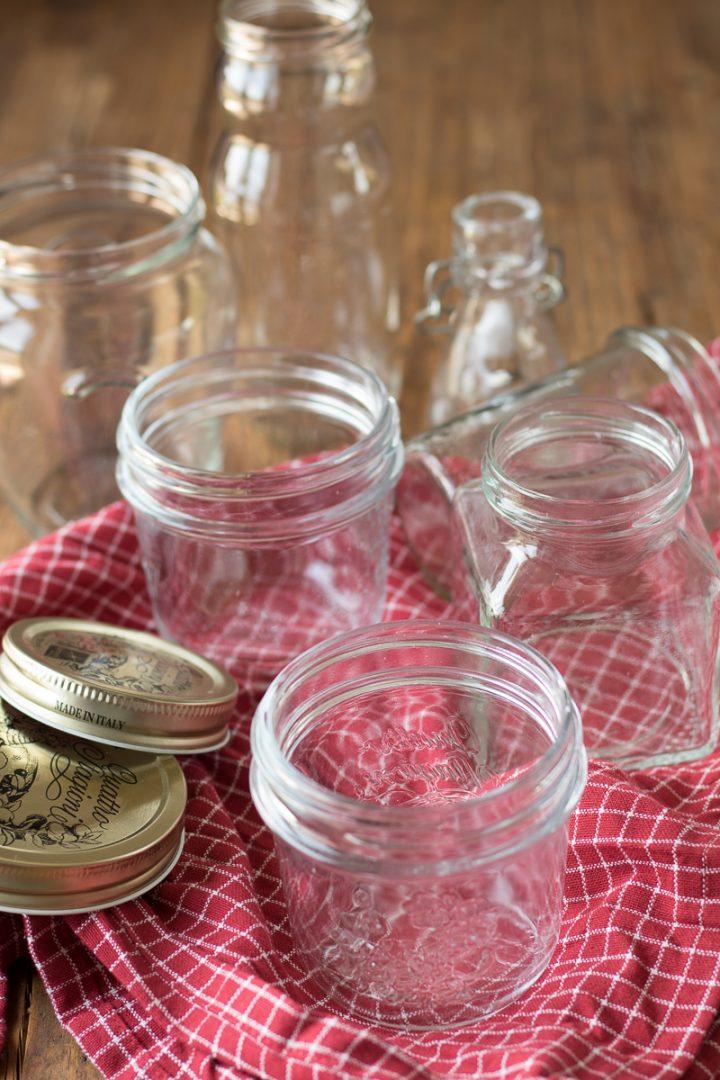 come sterilizzare vasetti di vetro