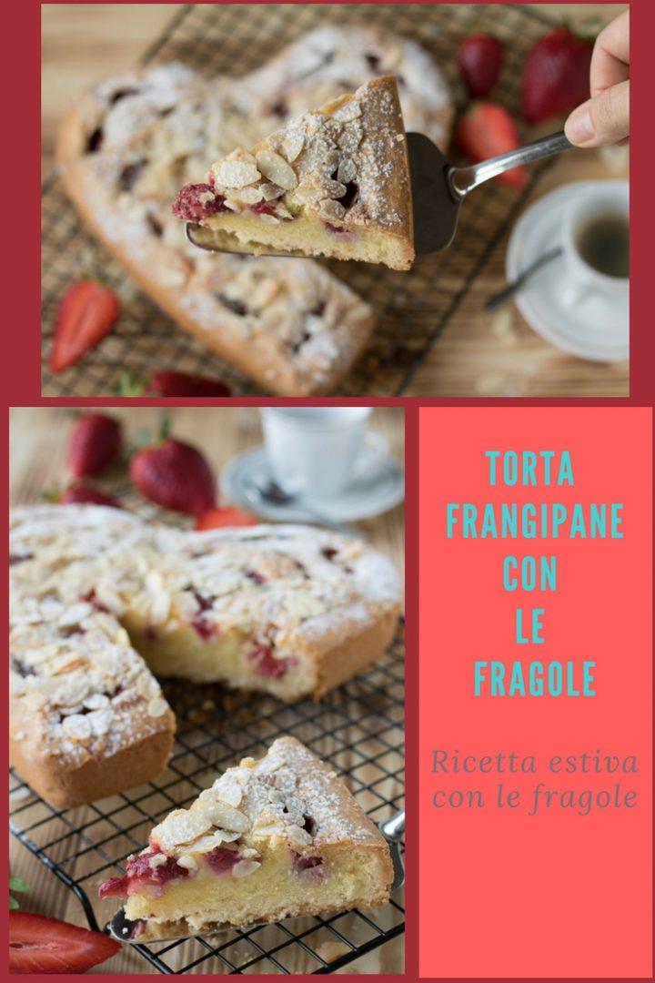 Torta frangipane con le fragole
