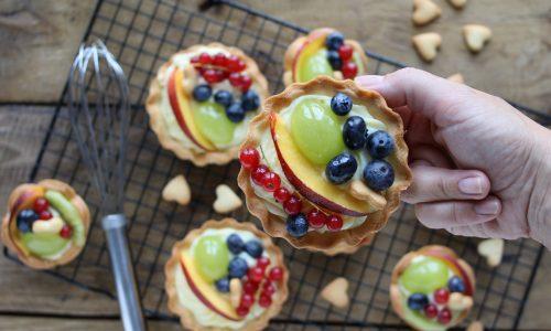Crostatine alla frutta di fine estate