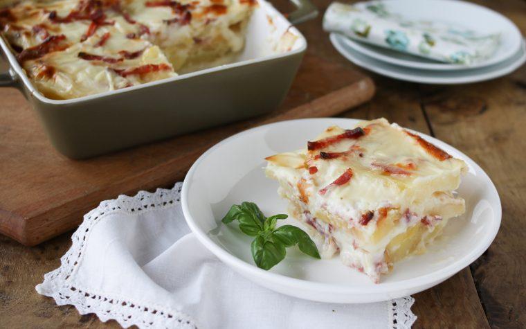 Parmigiana di patate bianca