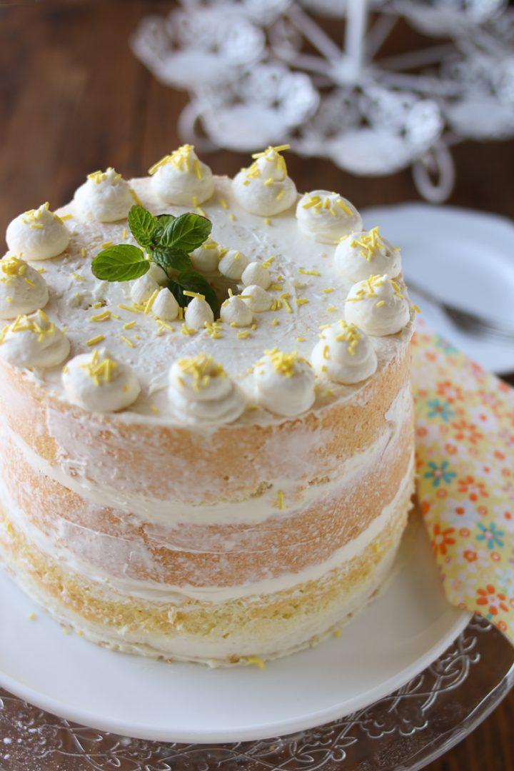 nude cake al cioccolato bianco